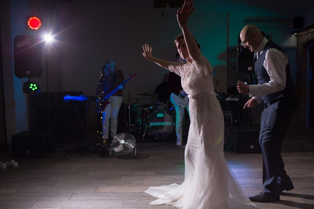 first dance at swallows nest barn