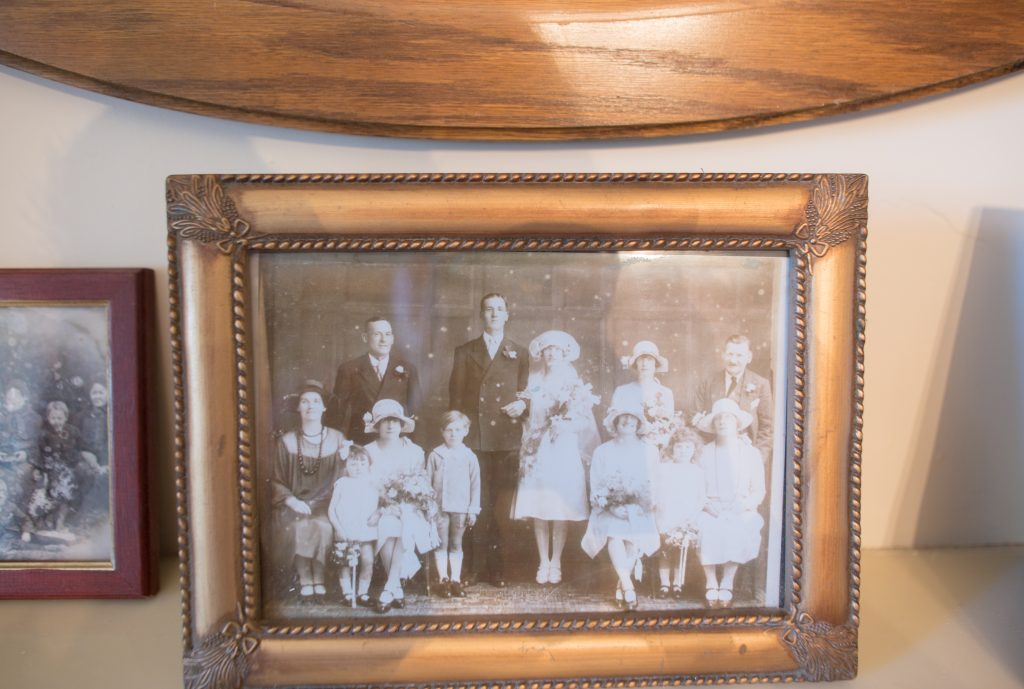 old family wedding photo