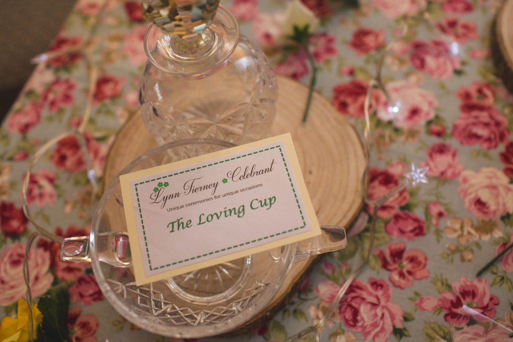 Photo of loving cup for wedding ceremony