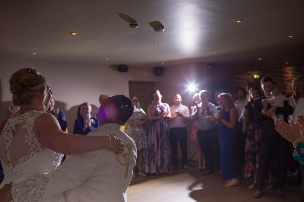 first dancing two brides