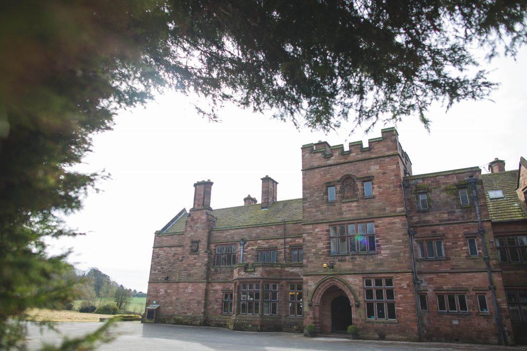 Photograph of Standon Hall, Staffordshire wedding venue