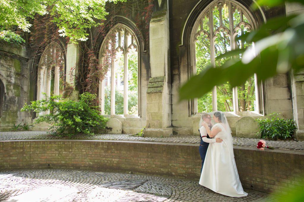 two brides at St Dunstans