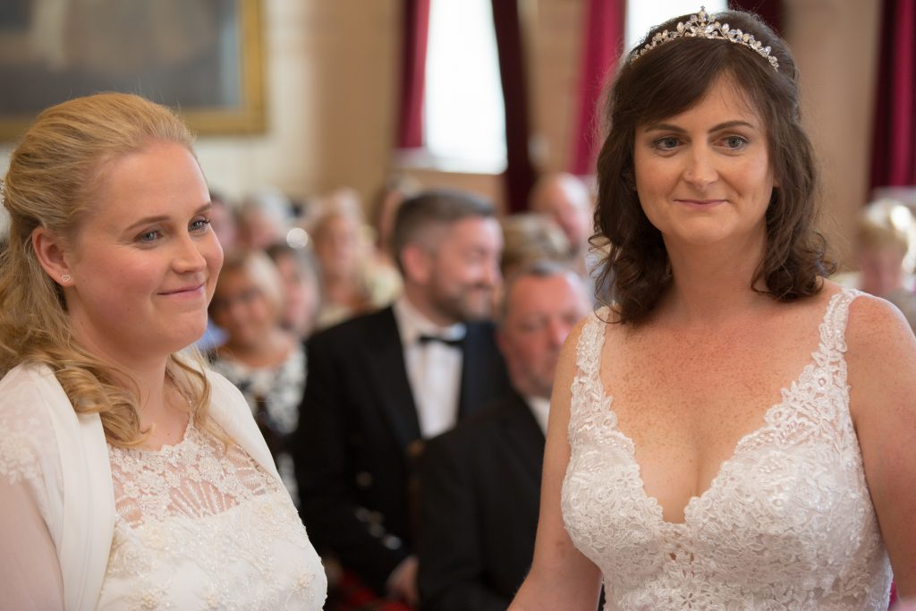 wedding ceremony at windsor guildhall